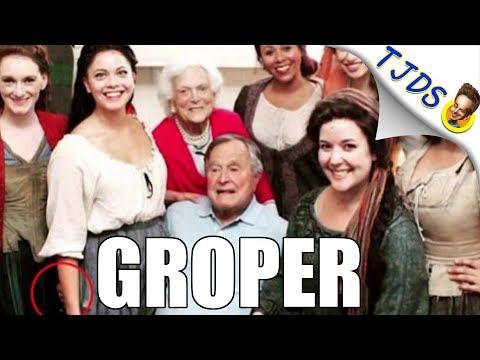 Bombshell: George H W Bush Revealed as Serial Groper