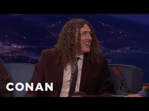"""Weird Al"" Yankovic On His Long History With Lin-Manuel Miranda  - CONAN on TBS"