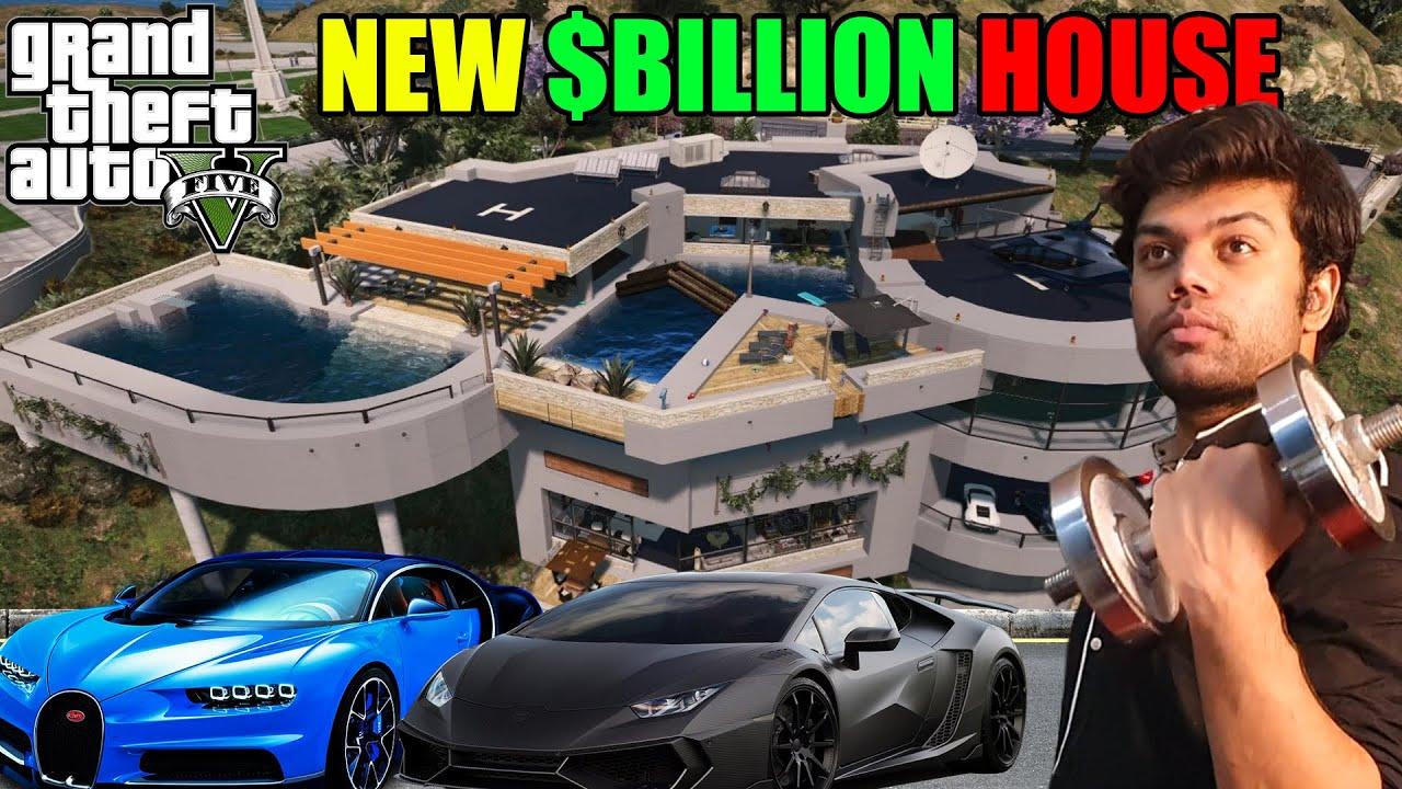 Michael Got New $Billion Mansion | GTA 5 GAMEPLAY #17