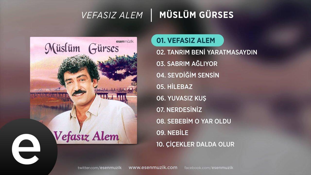 Müslüm Gürses Vefasız Alem Albüm Kapağı
