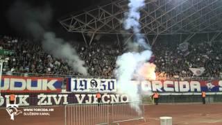 Torcida Split / Hajduk Split - Lokomotiva Zagreb  2:1 (14. Kolo prvenstva Hrvatske)
