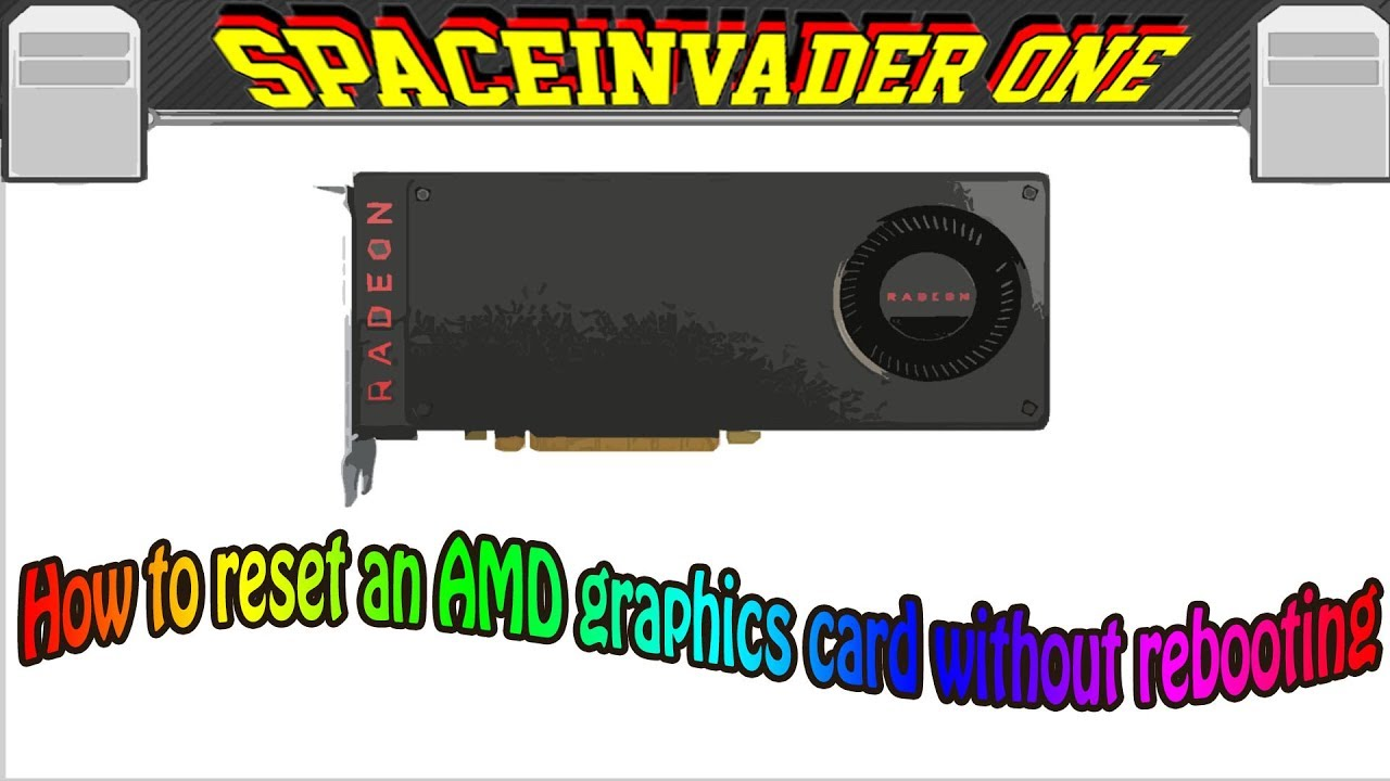 How to easily reset a passed through AMD Graphics card without rebooting