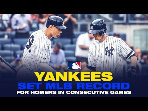 In The Zone - Yankees Extend Record Home Run Streak to 29 Games