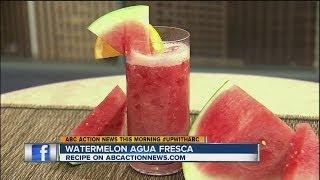 Live Well Recipe: Watermelon Agua Fresca