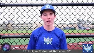 Ryan Corbett College Showcase Baseball Video