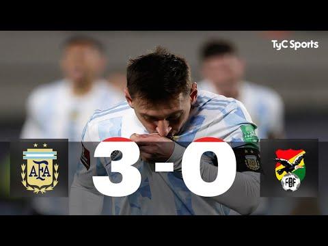 Las lágrimas de MESSI y el resumen del partido tras el triunfo de la selección Argentina ante Bolivia