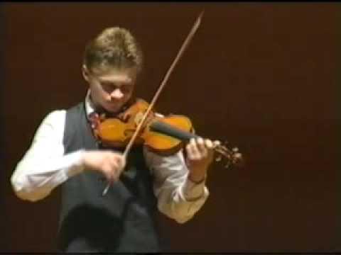 Bach Chaconne Tymur Melnyk 1/2 ViolinGeiger Virtuoso