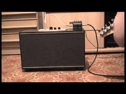 видео: ламповый гитарный комбик 3Вт