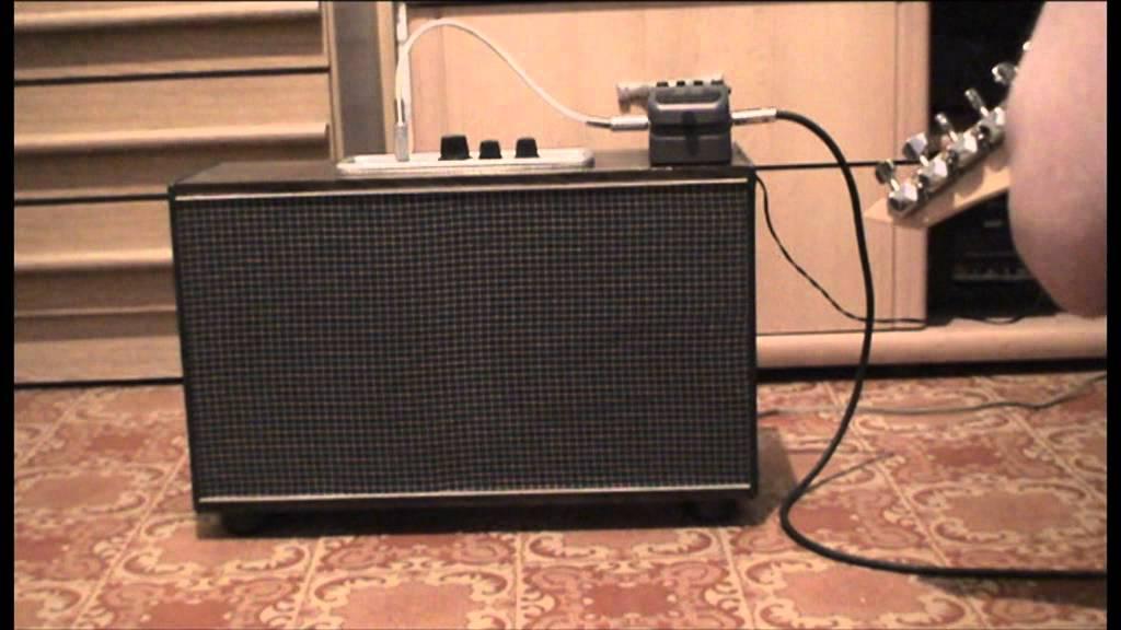 ламповый гитарный комбик 3Вт