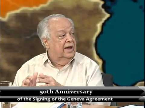 50th Anniversary of the Signing of the Geneva Agreement
