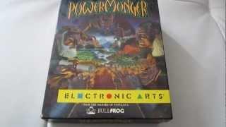 Retro Unboxing POWERMONGER (AMIGA)