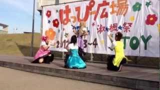 Berryz工房「cha cha SING」踊ってみた【DXハンター】 女装1人+女2人+男1人