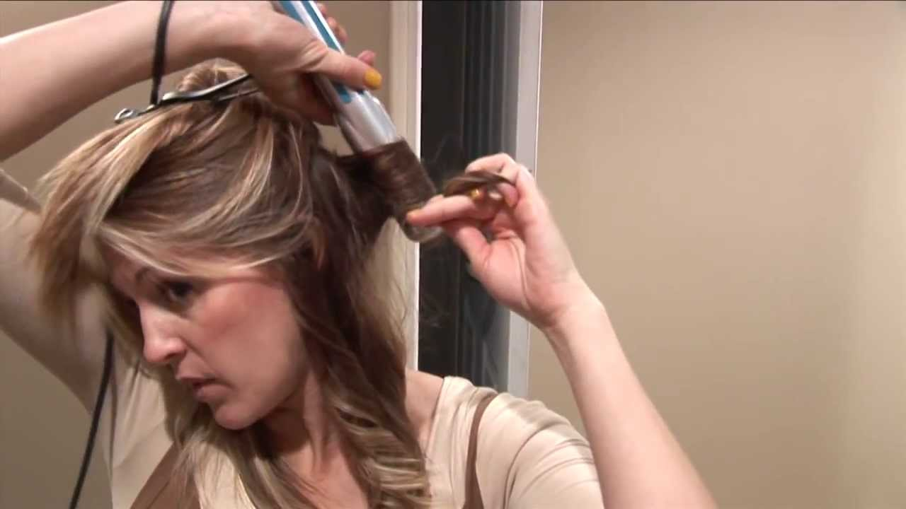 Flat Iron Curls 70s Hair Flip Hair 101 Tutorials YouTube