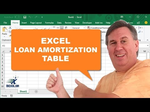 "Learn Excel 2013 - ""Loan Amortization Table"": Podcast #1664 - Youtube"