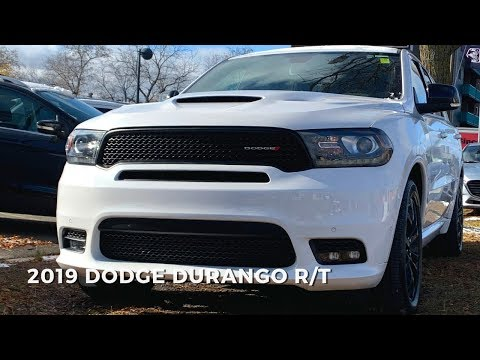 2019 Dodge Durango R/T Walkaround Review | #DodgeDurango