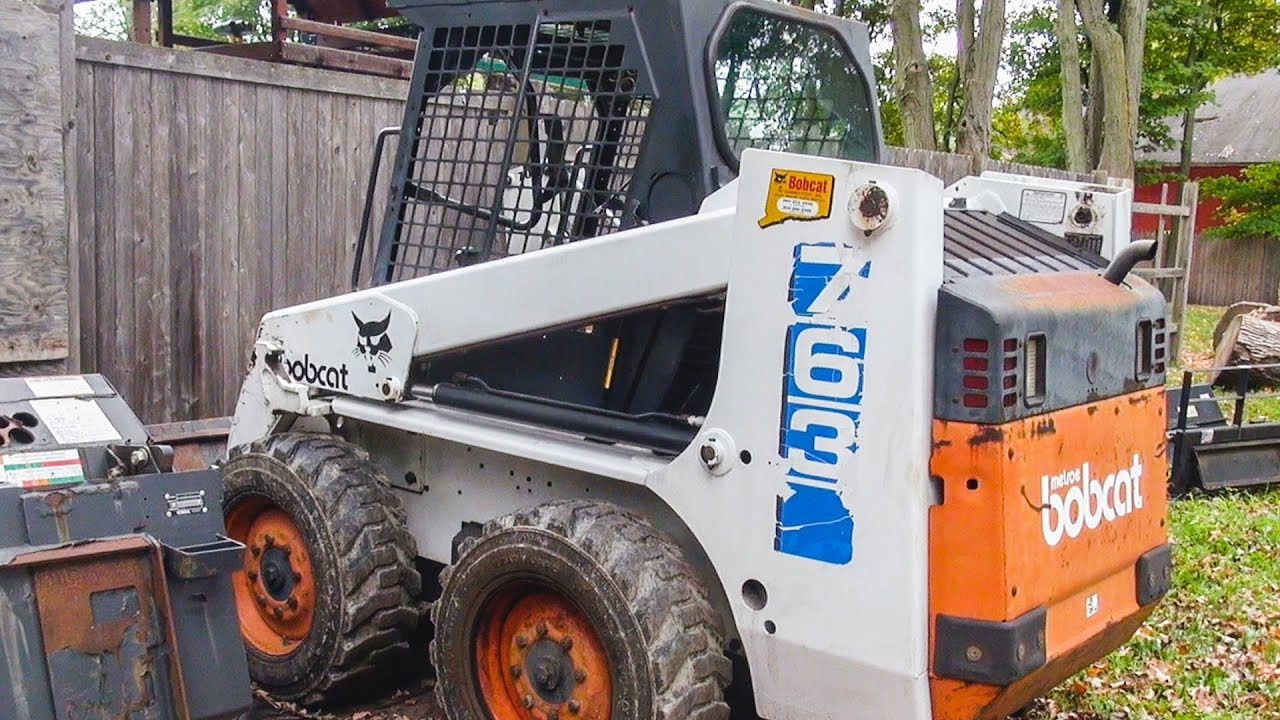 BOBCAT 763 FOR SALE CTSCAPER
