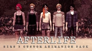 Afterlife Sims 3 Custom Animations Pack