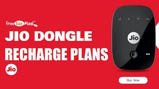 Jio Dongle Recharge Plans | Jio Dongle Plans List 2020 | JioFi Recharge Plans | Best Plan for JioFi