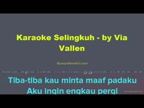 Karaoke Dangdut Selingkuh - Via Vallen Tanpa Vokal