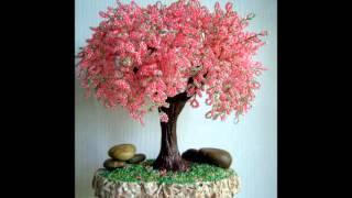 Красивые деревья из бисера своими руками - красивый декор вашего дома