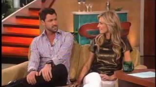 Erin Andrews Impersonates Maksim Chmerkovskiy on The Bonnie Hunt Show