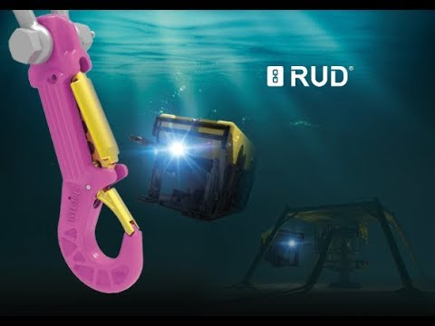The new RUD ROV / Subsea HOOK - cost efficiency in subsea lifting challenges