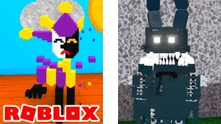 How To Get Secret Character 1 Badge and Shadow Twisted Bonnie Roblox Goldy's Diner