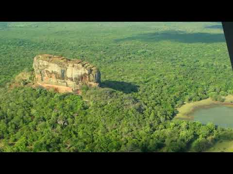 A capture of the magnificent Sigiriya rock