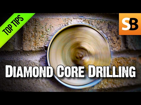 Dry Diamond Core Drilling trade tips to make the diamonds la