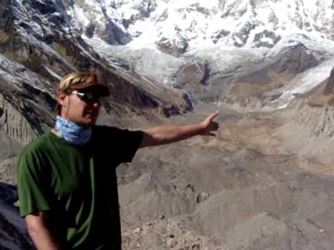 Disappearing Glaciers in the Himalayas