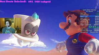 Super Mario Odyssey 503 Moons Speedrun in 3:46:21