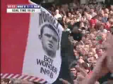 Wayne Rooney Wonder Goal Against Newcastle Must See Perfect Volley Long Shot