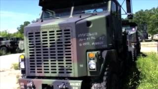 2002 Oshkosh M1070 Commercial Heavy Equipment Transporter (HET) on GovLiquidation.com