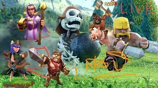 Live Clash of Clans war - War Clans