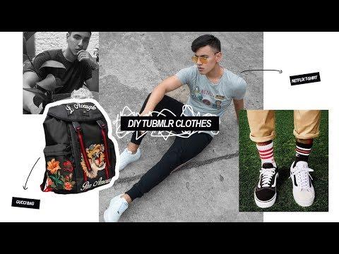 DIY Ropa Tumblr / Renueva tu ropa - David Tasco