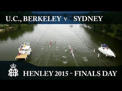 U.C., Berkeley v Sydney   Finals Day Henley 2015   Visitors'