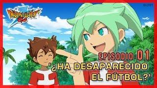 Inazuma Eleven Go Chrono Stones -Episodio 1 español «¿Ha desaparecido el fútbol?» thumbnail