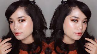 Tutorial Makeup Natural Glowy Dewy untuk Kulit Berminyak ( NO POWDER + TAHAN LAMA ) ...