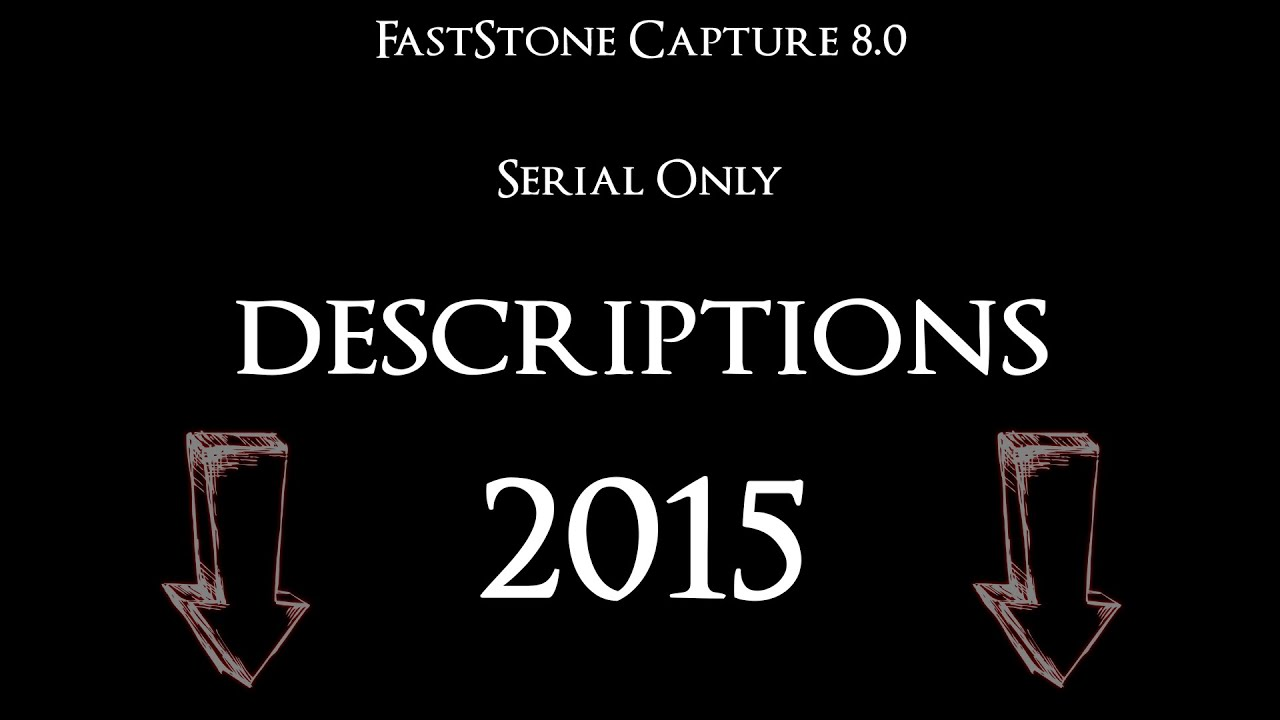 key faststone capture 8.0
