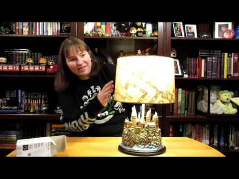 Hogwarts Lamp From Bradford Exchange – May 2020 | Muggle-born Witch