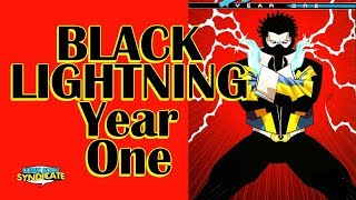 Black Lightning: Year One #1 (review) COMIC BOOK SYNDICATE