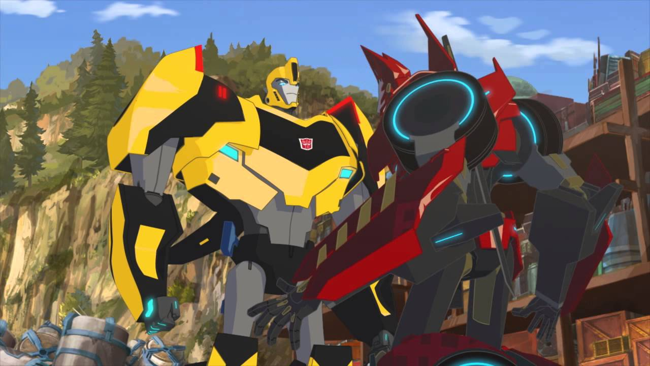 Transformers Brasil - Robots in Disguise `Bumblebee`