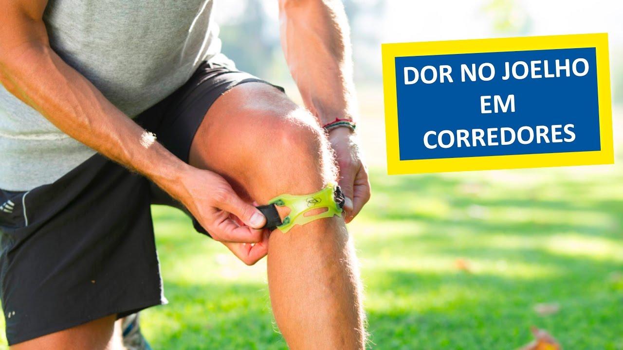 dor no músculo do joelho após a corrida