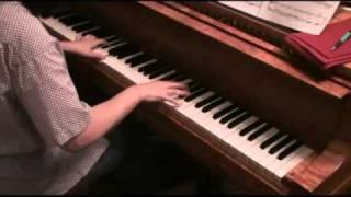 ピアノソロ「アシタカせっき」~もののけ姫より(久石譲)