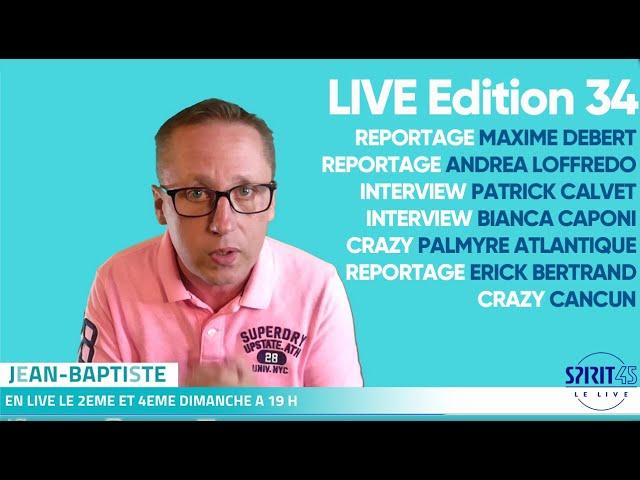 Emission TV Club Med - Vittel - Nomination CDV 2021 - Cancun - La Palmyre Atlantique - Kamarina