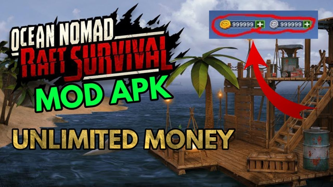 download raft original survival game mod unlimited money