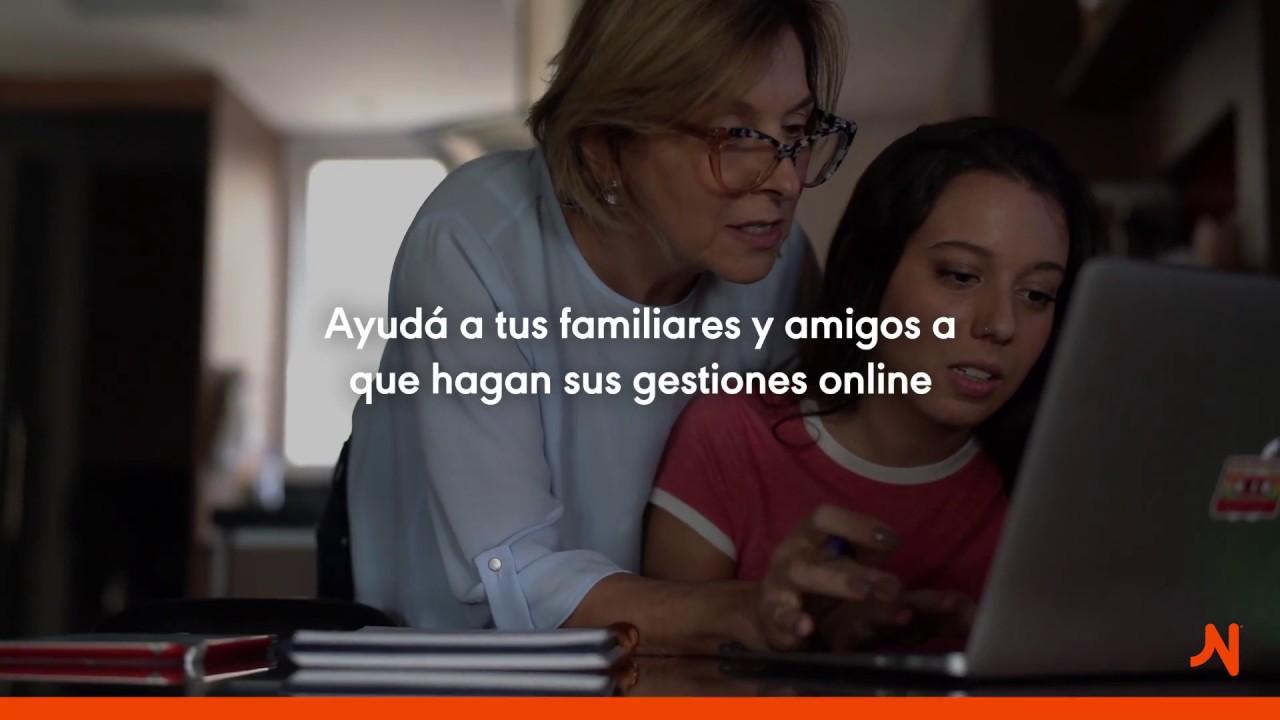 Hagamos las gestiones Naranja online y en equipo.