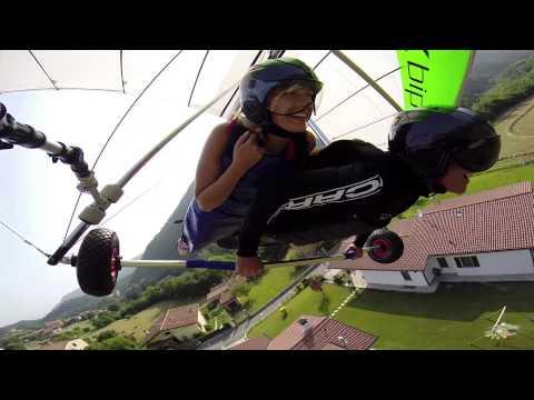 Volo Tandem In Deltaplano - Hang Gliding Tandem Flight