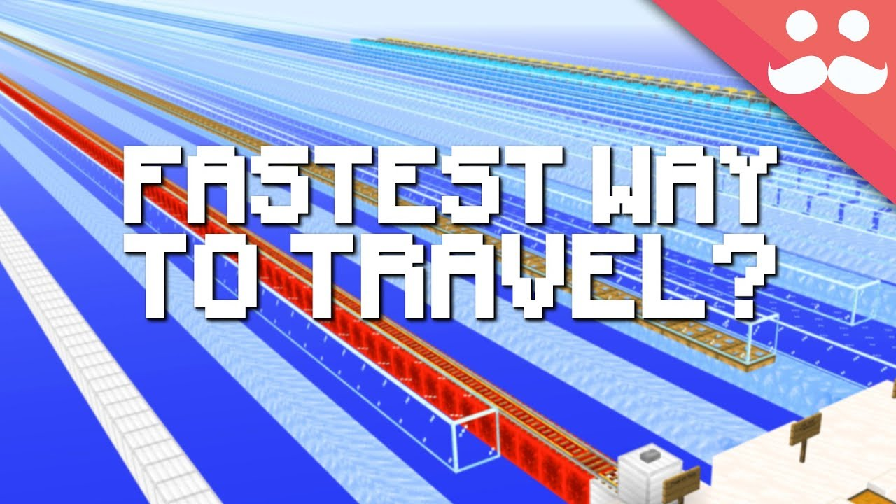 What's the Fastest Way to Travel in Minecraft 1.14?