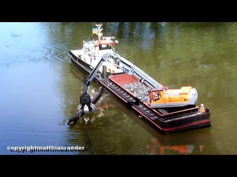 RC Modellschiff Obelix Ist Ein Arbeitsboot Der WSV.de. Eigenbau ( RC Modellbau )